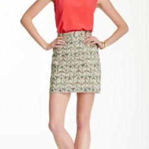 Kate Spade Summer Tweed Harper Skirt Tweed 12